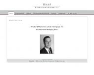 Bild Webseite Haas Wolfgang Frankfurt