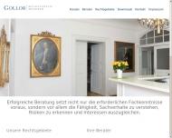 Bild Webseite Gollob Ulrik Dr. München