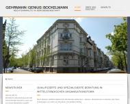 Website Gehrmann Dietrich , Gehrmann Astrid Rechtsanwälte und Fachanwälte für Arbeits-/Familienrecht