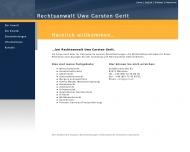 Bild Webseite Gerlt Uwe Carsten München
