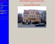 Bild Webseite Fiedler Mathias Rechtsanwalt Berlin