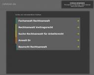Bild Webseite Fetzer Klaus Rechtsanwalt und Notar Frankfurt