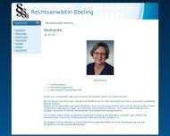 Bild Webseite Rechtsanwältin Ruth Ebeling Aachen
