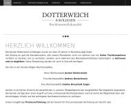 Bild Webseite Rechtsanwaltskanzlei Dotterweich & Kollegen Nürnberg