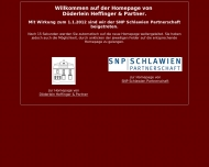 Bild Webseite Döderlein Dr. Kurt Frankfurt