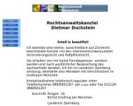 Bild Webseite  Krailling