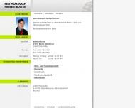 Bild Webseite Butter Herbert Rechtsanwalt Berlin