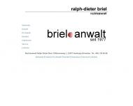 Website Rechtsanwalt Ralph-Dieter Briel