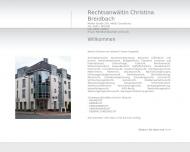Bild Webseite Breidbach Ch. Rechtsanwältin Osnabrück