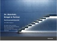 Bild Webseite Rechtsanwaltskanzlei Dr. Bistritzki, Brügel & Partner München