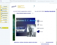 Bild Webseite Bönker Johannes E. C. Hannover