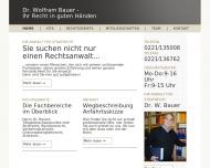 Bild Bauer Wolfram Dr. Rechtsanwalt