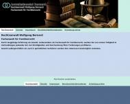 Bild Webseite Bernard W. Rechtsanwaltskanzlei Köln
