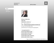 Website Reinhard Bergmann Rechtsanwalt