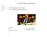 Bild Rechtsanwalt Martin Bauer