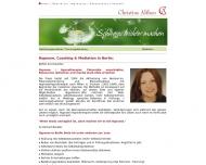 Bild Webseite Althen Christine Mediatorin Berlin