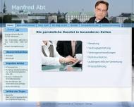 Bild Webseite Abt Bernd Hamburg