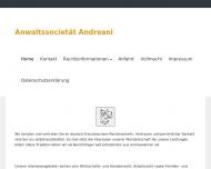 Website Andréani Elfrun u. Cyrill