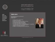 Website Amsoneit-Broich Anette Rechtsanwältin