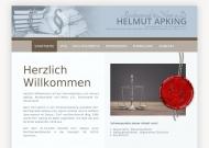 Bild Webseite Apking Helmut Hannover