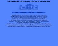 Bild Webseite Rusche Thomas Dipl. Psychologe Praxis für Psychotherapie u. Tanztherapie priv. Wedel