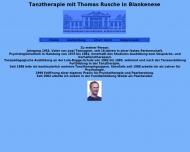Website Rusche Thomas Dipl. Psychologe Praxis für Psychotherapie u. Tanztherapie priv.