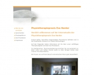 Bild Webseite Harder Eva Physiotherapeutin Konstanz