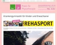 Bild Webseite Rösner Monika u. Port Jutta Krankengymnastik Ascheberg