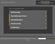 physio-ponndorf.de - nbsp - nbspInformationen zum Thema physio-ponndorf