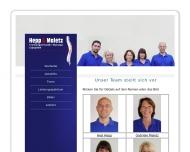 Website Krankengymnastik Hepp & Maletz