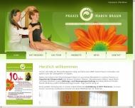 Bild Webseite Braun Maren Physiotherapie Dresden