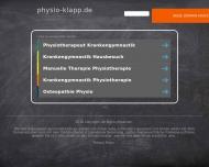 Bild Webseite Klapp Gabriele Physiotherapie Hamburg