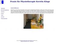 Bild Kluge Kerstin Praxis für Physiotherapie