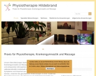 Praxis f?r Physiotherapie, Krankengymnastik und Massage - Physiotherapie Hildebrand