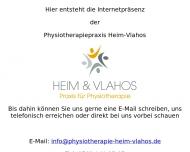 Website Physiotherapie Vlahos