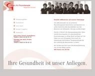Bild Webseite Gruner Stephan Praxis für Krankengymnastik Hamburg
