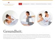 Bild Webseite Alster Physio Andrea Siahaan Krankengymnastik Hamburg