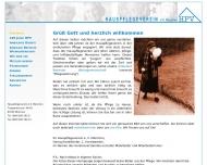 Bild Webseite Hauspflegeverein EV München München