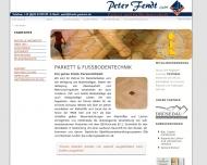 Bild Webseite Peter Fendt München