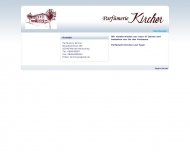 Bild Webseite Kircher E. München