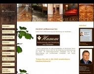 Bild Webseite Dieter Humm Unternehmergesellschaft München