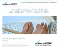 Bild Wallenborn Sporthopädie GmbH