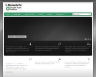 Bild Webseite Merzendorfer S. München
