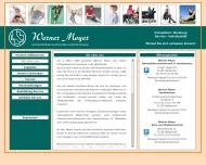 Website Meyer Werner Orthopädieschuhtechniker