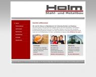 Holm Stahl- und Metallbau Flensburg Home