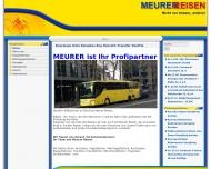 Bild Webseite Meurer Reisen Rösrath