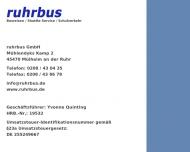 Bild Ruhrbus GmbH
