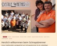 Bild Webseite Walther Anton Spalt