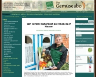 Shop - Das Gem?seabo GmbH - Ihr Lieferservice f?r Bioprodukte, Obstkisten, Gem?sekisten in Ihrer Umg...
