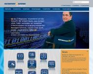 Bild Webseite Kramer & Crew Köln